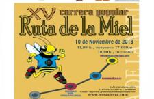 XV.- CARRERA  RUTA DE LA MIEL