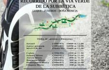 II.- CARRERA POPULAR VIA VERDE DE LA SUBBETICA