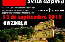 II.- CARRERA X MONTAÑA SIERRA DE CAZORLA