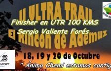 CARRERA: VI.- ULTRATRAIL RINCON DE ADEMUZ