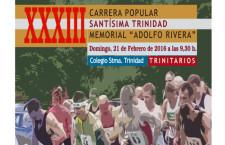 XXXIII.- CARRERA POPULAR TRINITARIOS