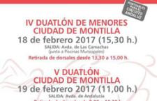 IV.- DUATLON DE MENORES  CIUDAD DE MONTILLA