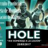 XIII.- HOMENAJE A LA LEGION HOLE 2017