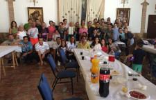 """Comida de convivencia año 2017  """"Club de Atletismo triatlón de Lucena"""""""
