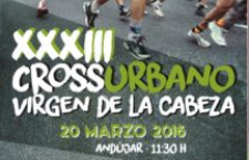 XXXIII.- CROSS VIRGEN CABEZA GRAN PREMIO PARAISO INTERIOR DE JAEN