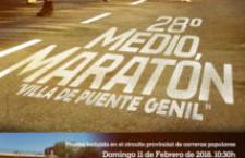 XXVIII .- MEDIA MARATON VILLA PUENTE GENIL
