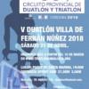 V.- DUATLON DE FERNAN NUÑEZ( DUATLON SPRINT CIRCUITO PROV DUATLON)