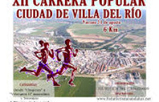 XII – CARRERA POPULAR CIUDAD DE VILLA DEL RIO
