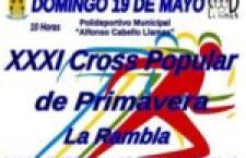 XXXI.-CROSS POPULAR DE PRIMAVERA LA RAMBLA